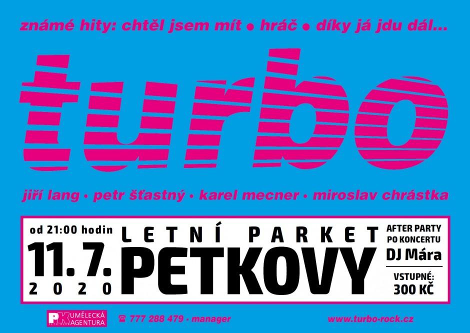 Koncert TURBO 11.7.2020