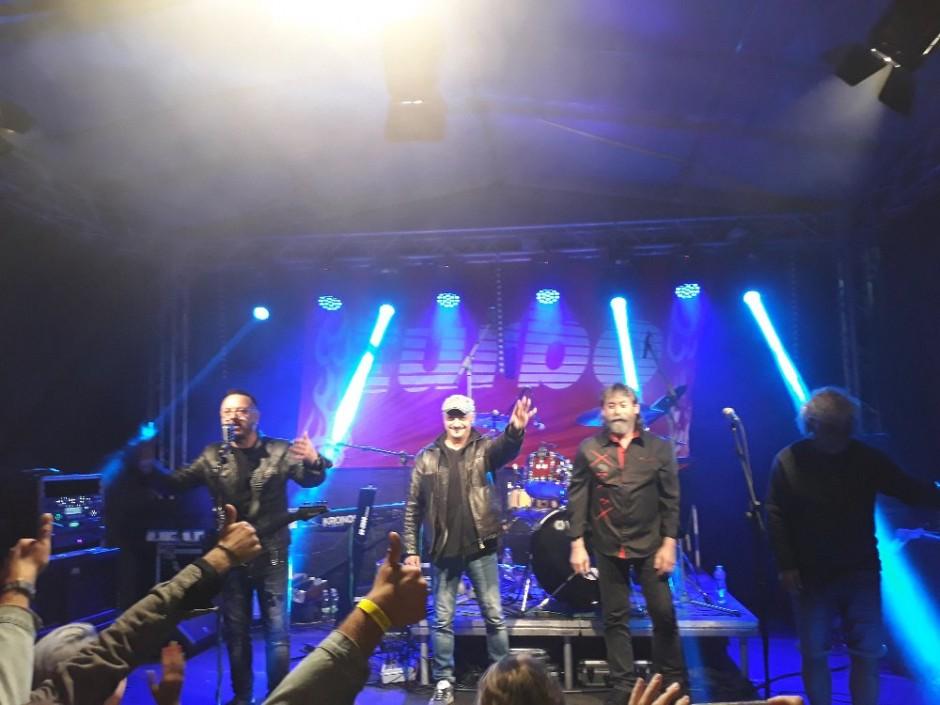 Fotky z koncertu skupiny TURBO